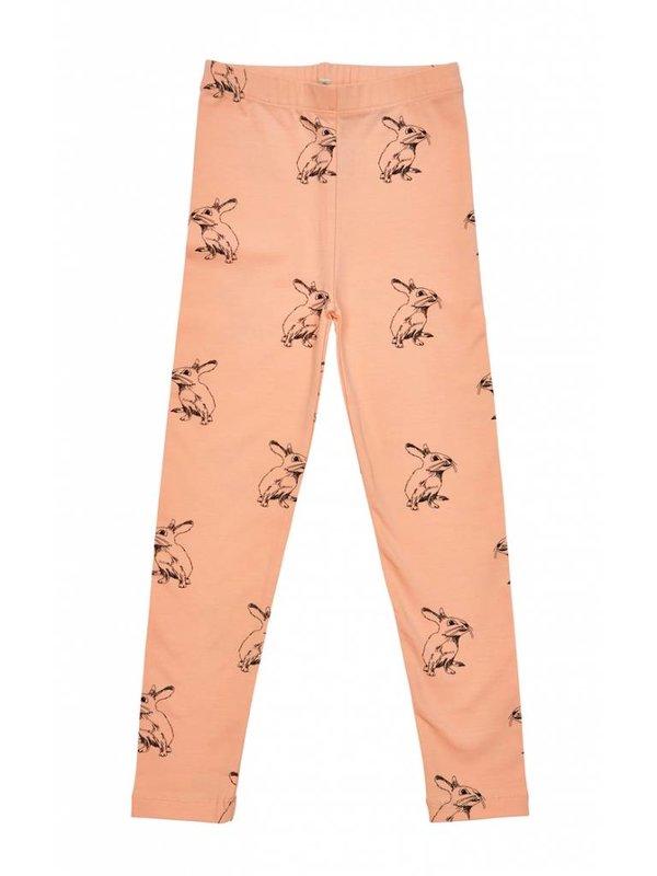 Peach Bunny Leggings LAATSTE MAAT 116/122