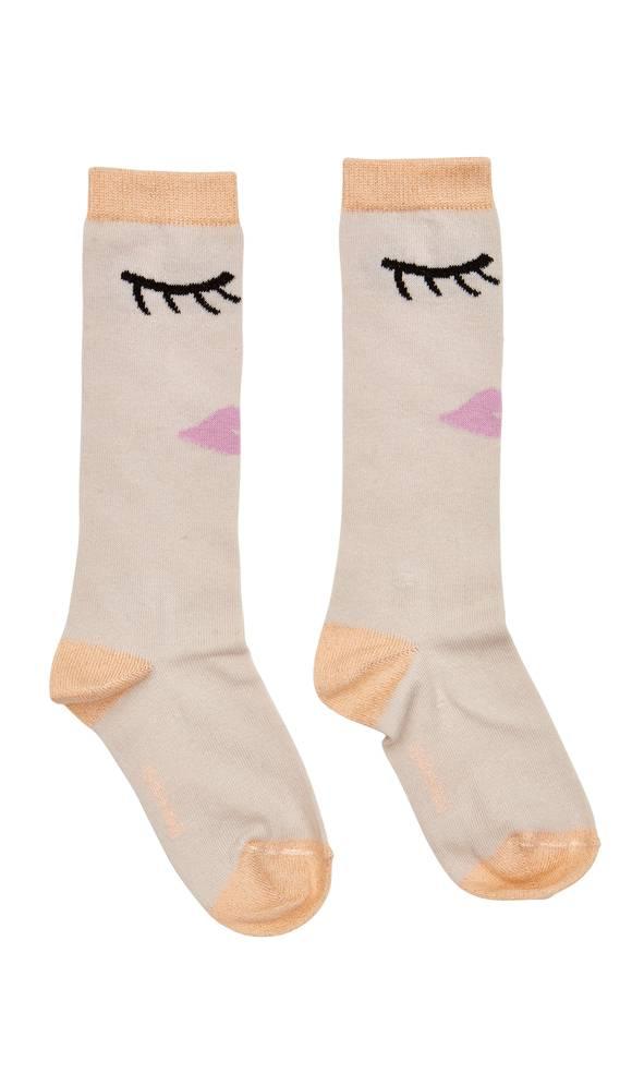 Pearl Lips Socks