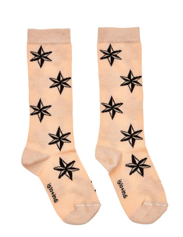 Peach Star Socks