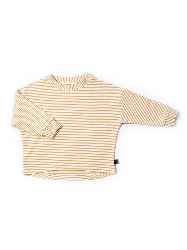 Ochre Stripe Pullover