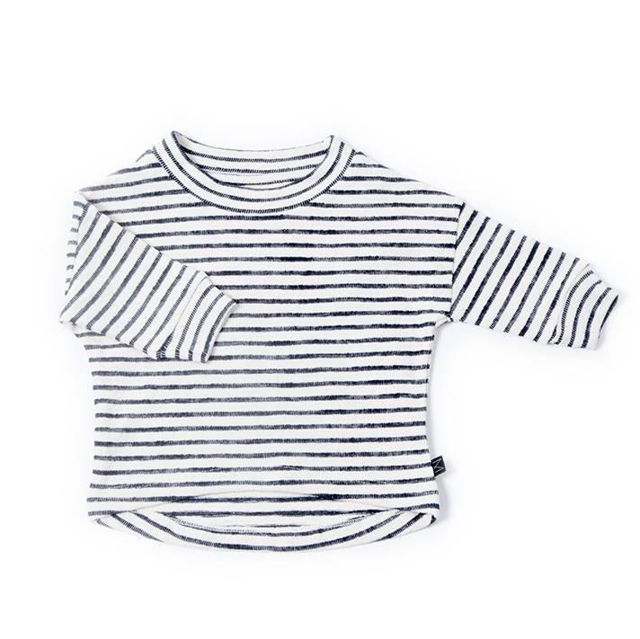 Stripy pullover