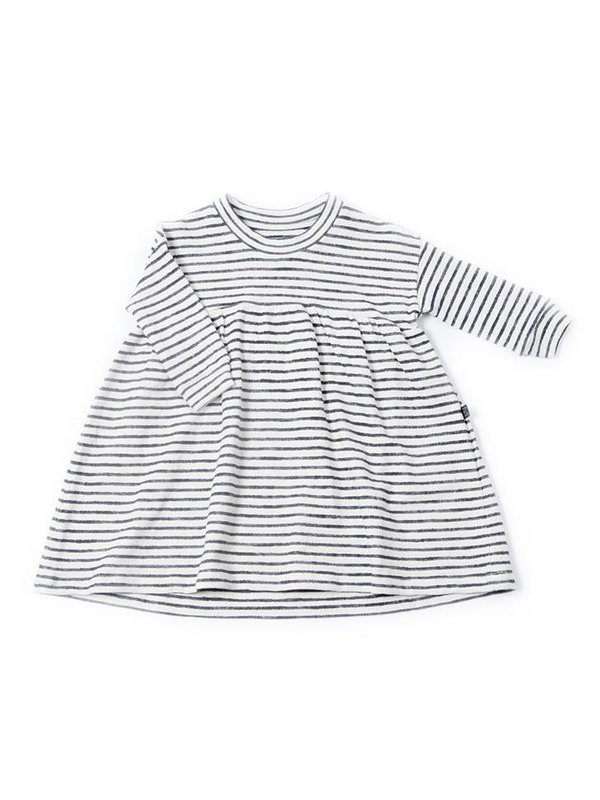 Stripy twirl dress