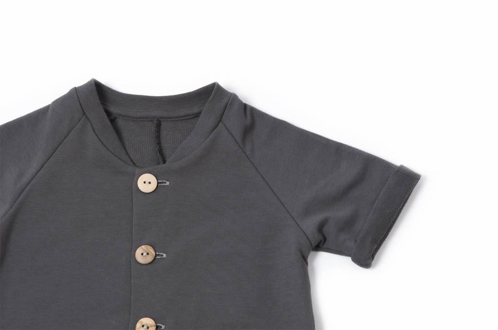Charcoal overall