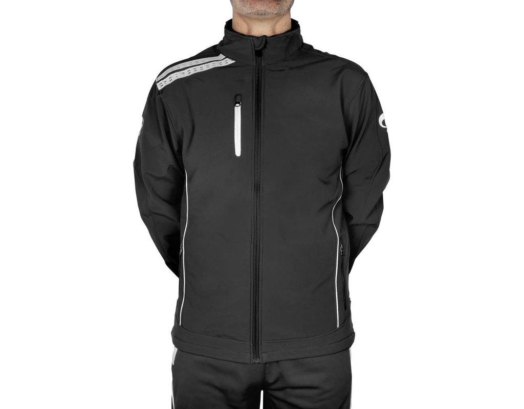 Quick Quick Softshell jas - Zwart/Wit