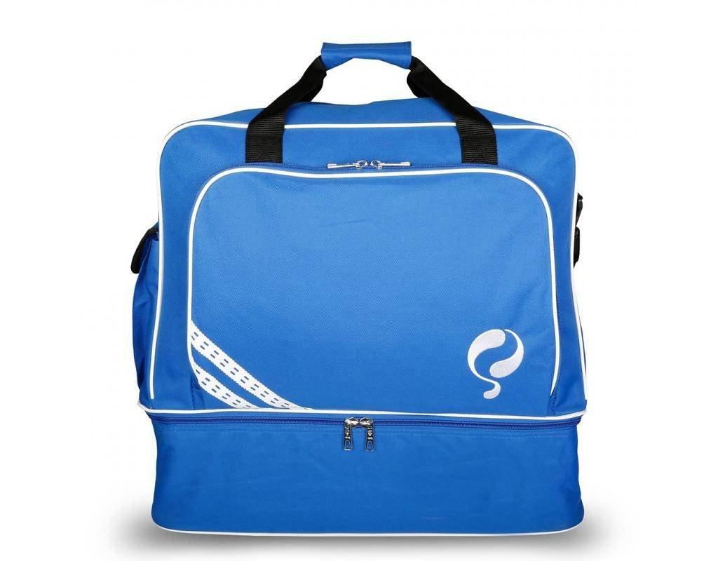Quick Tassen Bp : Quick voetbaltas blauw wit voetbalkleding