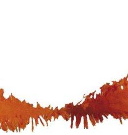 Feestfestijn Crepe Slinger Oranje 24 meter brandvertragend