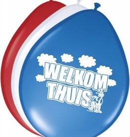 Feestfestijn Ballonnen Welkom Thuis (8 stuks)