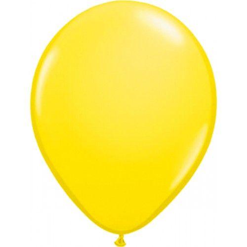 Feestfestijn Ballon Geel 10 stuks - 30cm