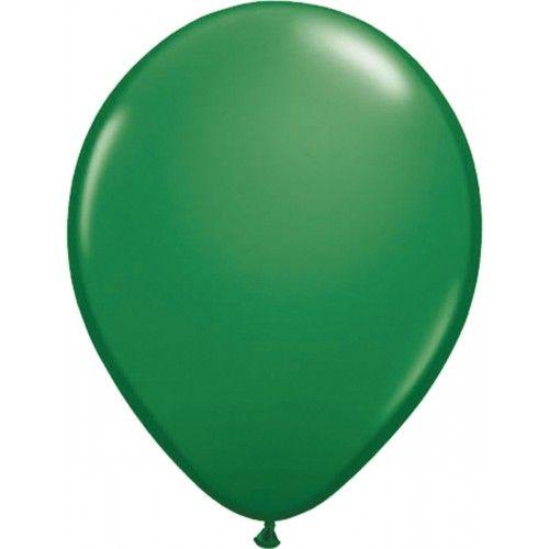 Feestfestijn Ballon Groen 10 stuks - 30cm