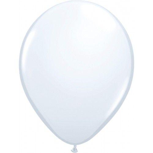 Feestfestijn Ballon Wit 10 stuks - 30cm