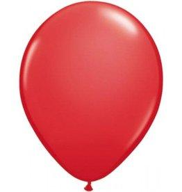 Feestfestijn Ballon Rood 10 stuks Metallic