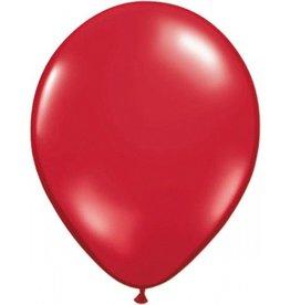 Feestfestijn Ballon Robijnrood 100 stuks