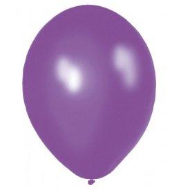 Feestfestijn Ballon Paars 10 stuks Metallic