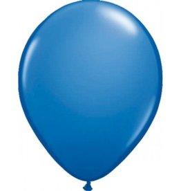 Feestfestijn Ballon Blauw 100 stuks