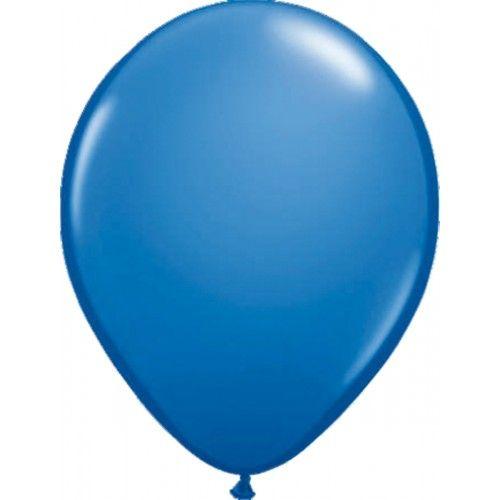 Feestfestijn Ballon Blauw 100 stuks - 30cm
