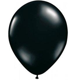Feestfestijn Ballon Zwart 100 stuks