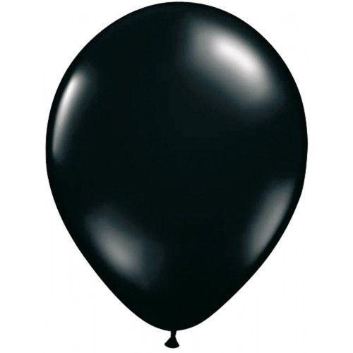Feestfestijn Ballon Zwart 100 stuks - 30cm