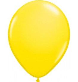 Feestfestijn Ballon Geel 100 stuks