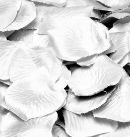 Feestfestijn Rozenblaadjes Wit