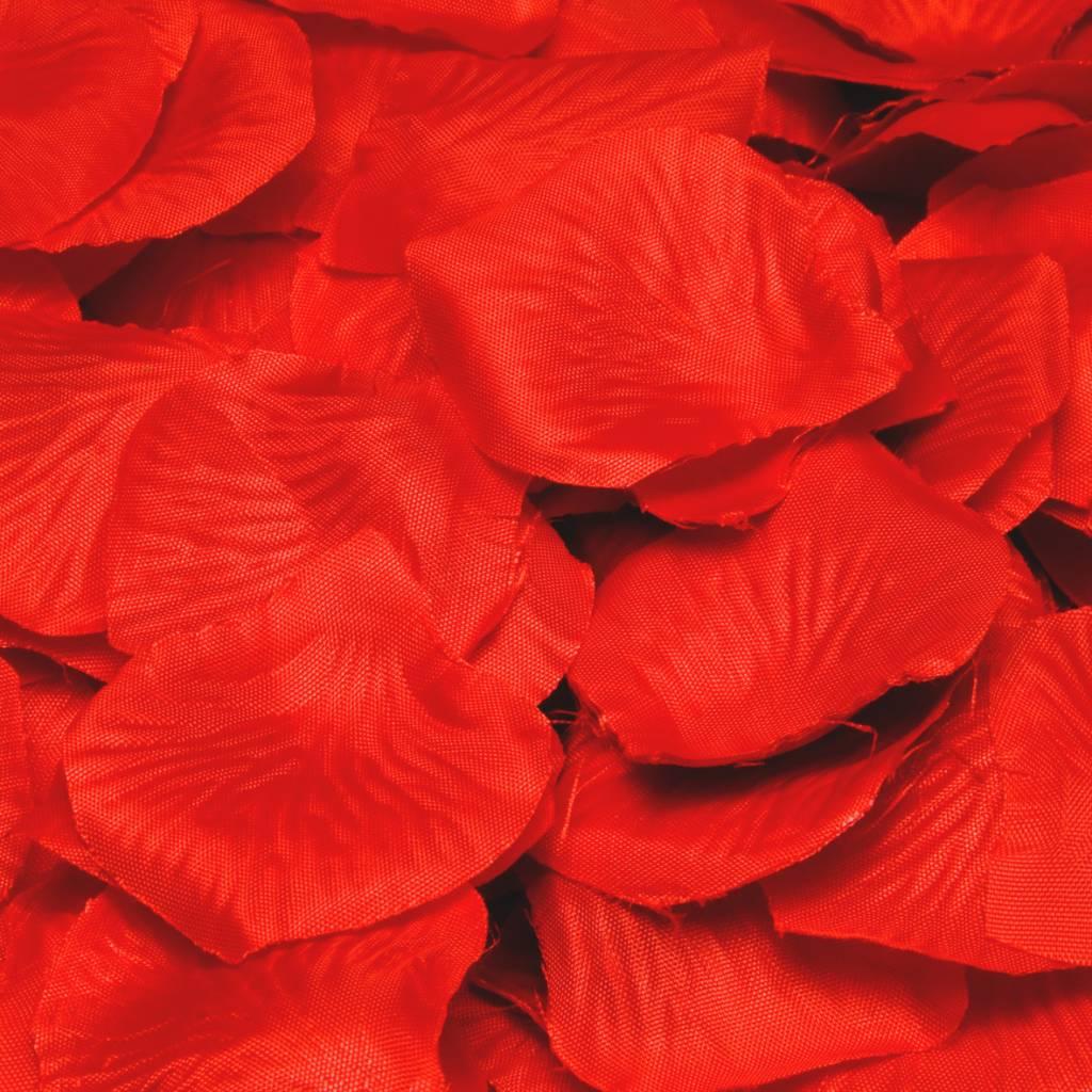 Feestfestijn Rozenblaadjes Rood, 144 stuks