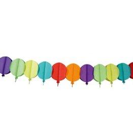 Feestfestijn Slinger Ballon Multi 6 meter niet-brandvertragend