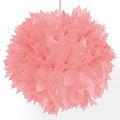Feestfestijn Hangdecoratie Roze Pom Pom - 30cm