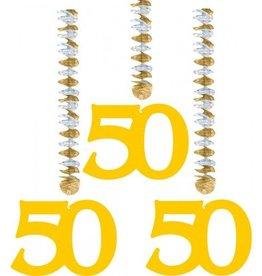Feestfestijn Hangdecoratie 50 Goud