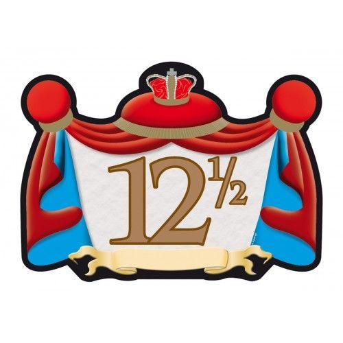 Feestfestijn Deurbord 12,5 Jaar