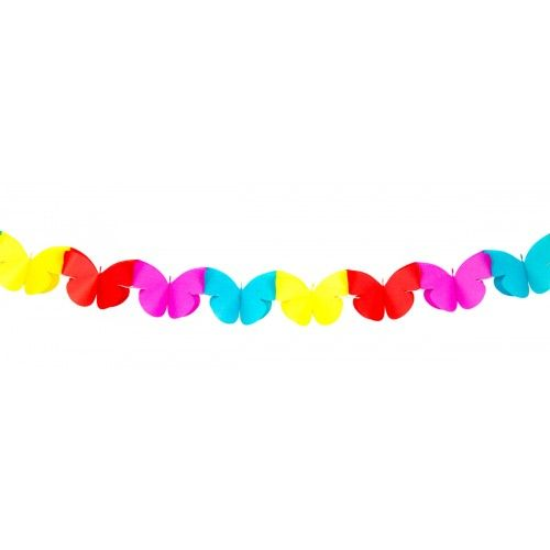 Feestfestijn Minislinger Vlinder 2 meter