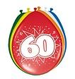 Feestfestijn Ballon 60 jaar 8 stuks - 30 cm