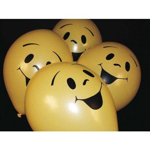 Feestfestijn Ballon Smile 6 stuks