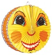 Feestfestijn Lampion Smiling Moon 28 cm brandvertragend