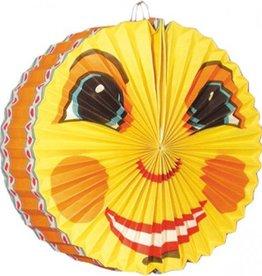 Feestfestijn Lampion Smiling Moon 28 cm brandvertragend