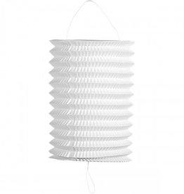 Feestfestijn Lampion Wit ø16 cm niet-brandvertragend
