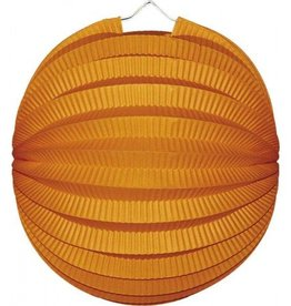 Feestfestijn Lampion Oranje 22 cm brandvertragend