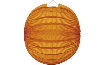 Feestfestijn Bollampion Oranje 22 cm brandvertragend