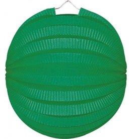 Feestfestijn Lampion Groen 22 cm brandvertragend