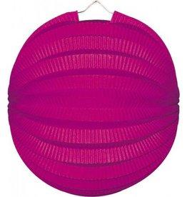 Feestfestijn Lampion Roze 22 cm niet-brandvertragend