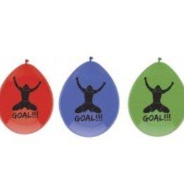 Feestfestijn Ballon Goal 6 stuks