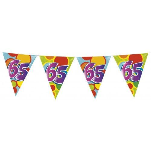 Feestfestijn Vlaggenlijn 65 jaar - 10 meter