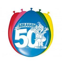 Feestfestijn Ballon Abraham 8 stuks