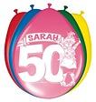 Feestfestijn Ballon Sarah 8 stuks - 30 cm
