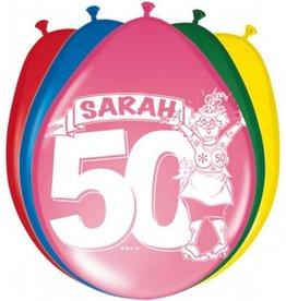Feestfestijn Ballon Sarah 8 stuks
