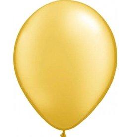 Feestfestijn Ballon Goud Metallic 10 stuks