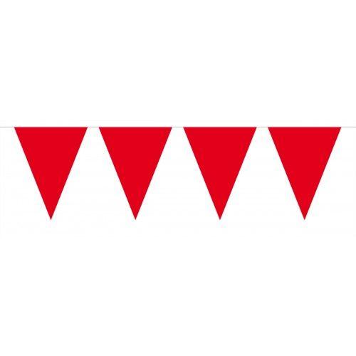 Feestfestijn Vlaggenlijn Rood Wit 10 meter