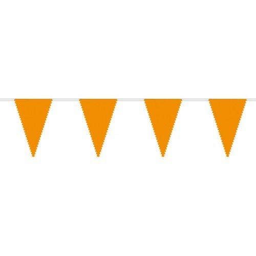 Feestfestijn Vlaggenlijn Oranje 10 meter