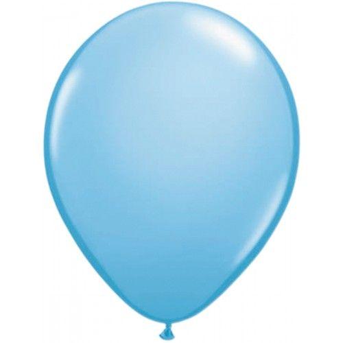 Feestfestijn Ballon Lichtblauw 100 stuks - 30cm
