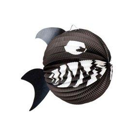 Feestfestijn Lampion dieren Haaivis niet-brandvertragend