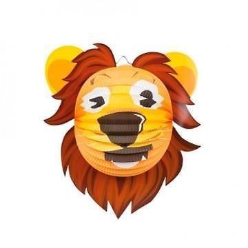 Feestfestijn Lampion dieren Leeuw niet-brandvertragend