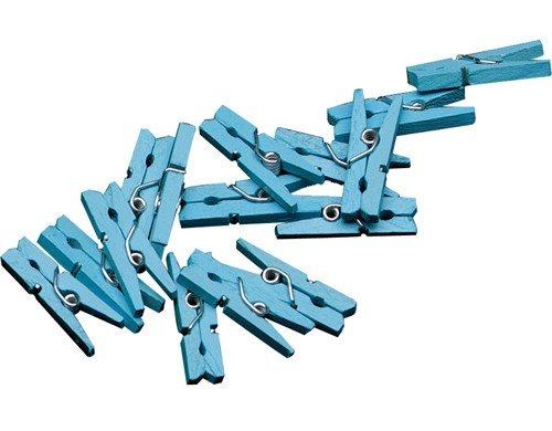 Feestfestijn Miniknijpers Blauw 24 stuks